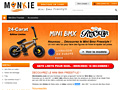 Boutique en ligne de mini bmx freestyle : Monkie Bmx