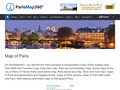 Transport et Tourisme à Paris : Plans de Paris