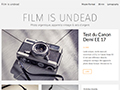 Film Is Undead, photo argentique, appareils photo vintage, films et pellicules