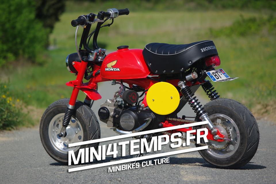 mini moto honda monkey id es d 39 image de moto. Black Bedroom Furniture Sets. Home Design Ideas
